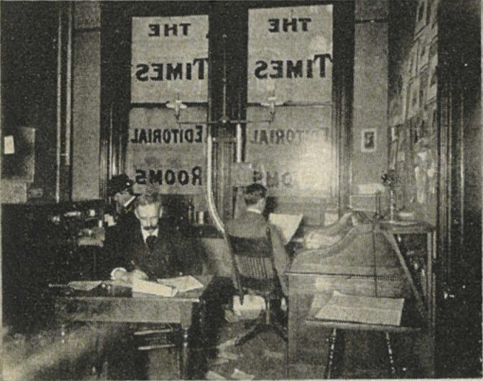 Seattle_Daily_Times_news_editor_quarters_-_1900